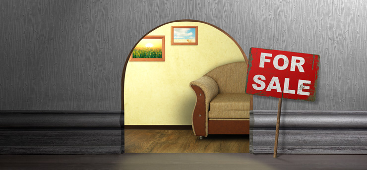 Mouse-Hole-In-Wall-With-Sign-For-Sale